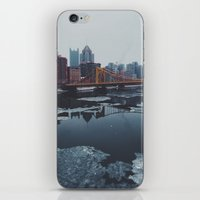 pittsburgh iPhone & iPod Skins featuring Pittsburgh, PA by Chase Hunter