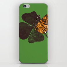 By Chance - Green iPhone & iPod Skin
