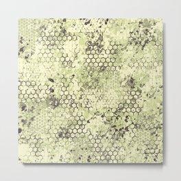 Sage Green Odyssey Metal Print