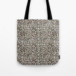 Elegant gold leopard animal print pattern Tote Bag