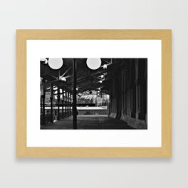 Train Station (Nashville,TN) Framed Art Print