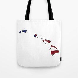 Patriotic Hawaii Tote Bag