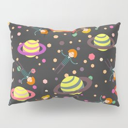 Dreamers and planets Pillow Sham