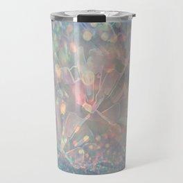 Sparkling Crystal Maze Abstract Travel Mug
