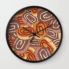 Jam Rollettes Wall Clock