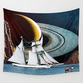 Orbital Sailing Wall Tapestry