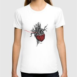 Wired Heart T-shirt