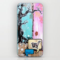 TWEET iPhone & iPod Skin