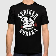 Striker Eureka Black Mens Fitted Tee SMALL