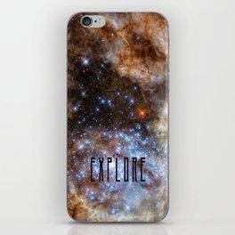 Explore - Monster Stars iPhone Skin