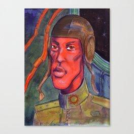 Red Pilot Canvas Print