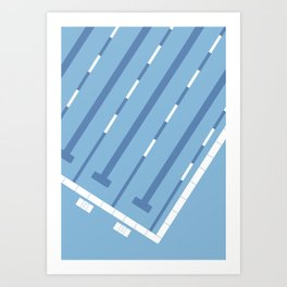 Sport Series: Swimming Art Print