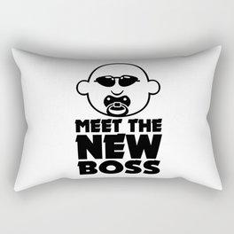 Meet the new boss V6S2 Rectangular Pillow