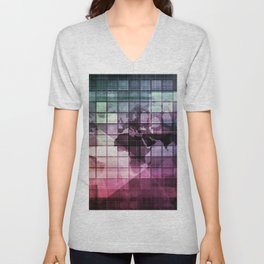 Creative Technology and Disruptive Technologies Through Inspiration Unisex V-Neck