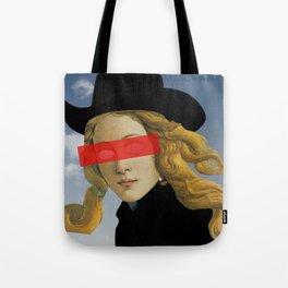 Das Mädchen mit dem Hut Tote Bag