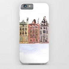 Coloured Houses Slim Case iPhone 6s