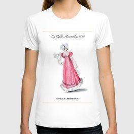Fashion Plate 1819, Regency England T-shirt