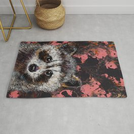 Baby Raccoon Rug
