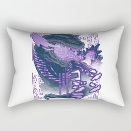 Shin Atomic Fire Born! Rectangular Pillow