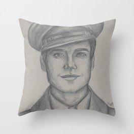 Sgt. James Barnes Throw Pillow