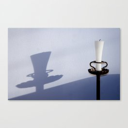 wall_candle Canvas Print