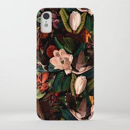 FLORAL AND BIRDS XIV iPhone Case