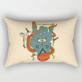 Evil Hand Rectangular Pillow