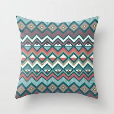 Aztec. Throw Pillow