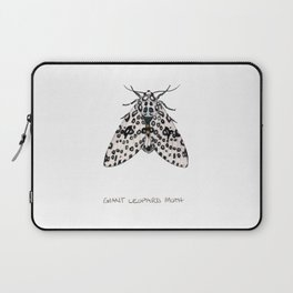 Giant Leoprd Moth Laptop Sleeve