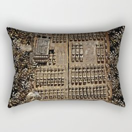 African Antiquities Collection: Shutter of the Degone People Rectangular Pillow