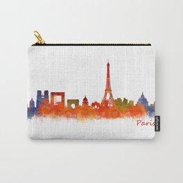 Paris City Skyline Hq v2 Carry-All Pouch