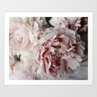 peonies Art Prints featuring Peonies  by Pure Nature Photos