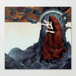 FATED : The Silent Oath - Norns  Canvas Print