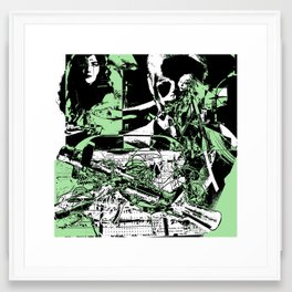 Merge Phase Framed Art Print