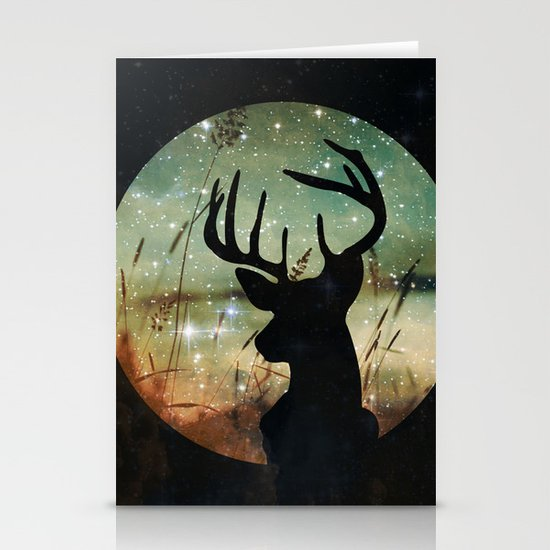 Deer 2 Stationery Cards