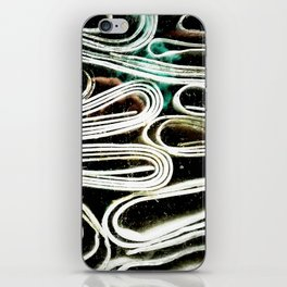 Hard paper iPhone Skin