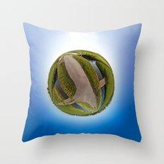 Polderworld Throw Pillow