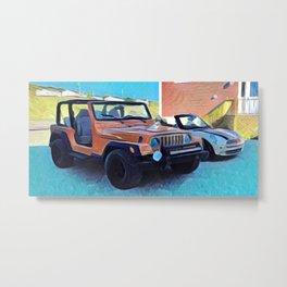 Summer Rides Metal Print