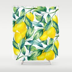 When Life Gives You Lemons... Shower Curtain