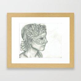 Dendranthemum Framed Art Print
