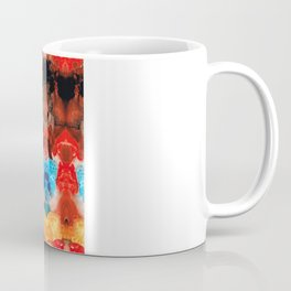 Beauty And The Beast - Abstract Art By Sharon Cummings Coffee Mug