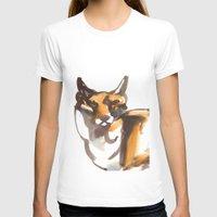 mr fox T-shirts featuring Mr Fox by Ryan Hodge Illustration