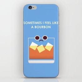 Feel like a Burden  iPhone Skin