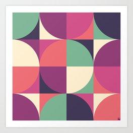 Quarters Quilt 3 Art Print