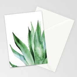 Agave Plant. Stationery Cards