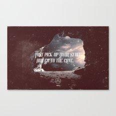 cave 01 Canvas Print