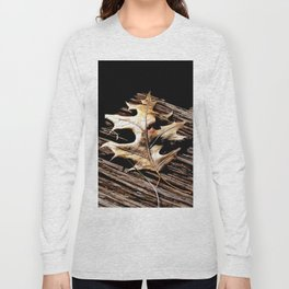 Burnished Gold in Winter Long Sleeve T-shirt