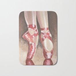Red shoes Bath Mat
