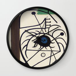 Joan Miro Danseuse 1931 Artwork for Prints Posters Tshirts Men Women Kids Wall Clock