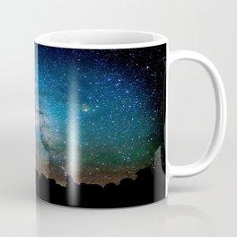 The Milky Way Mountains Coffee Mug
